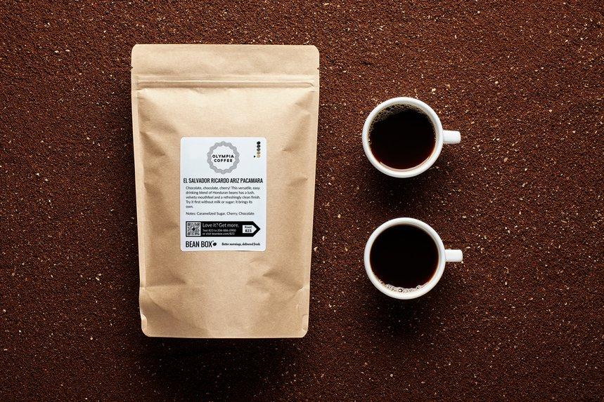 El Salvador Ricardo Ariz Pacamara by Olympia Coffee - image 0