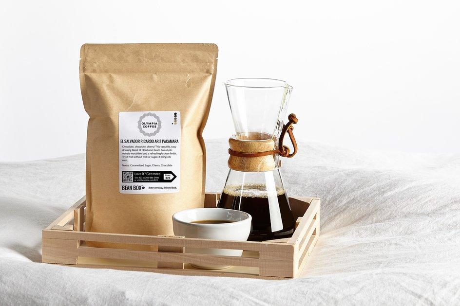 El Salvador Ricardo Ariz Pacamara by Olympia Coffee