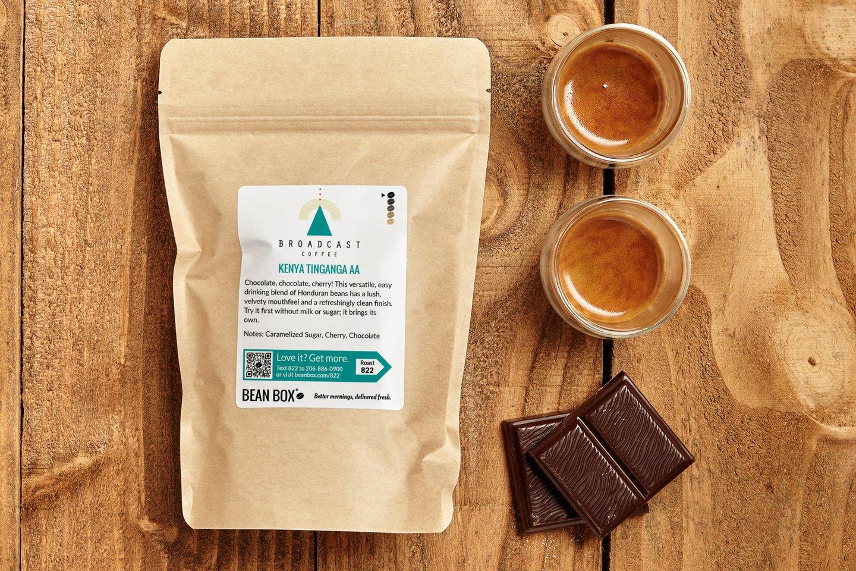 Kenya Tinganga AA by Broadcast Coffee Roasters