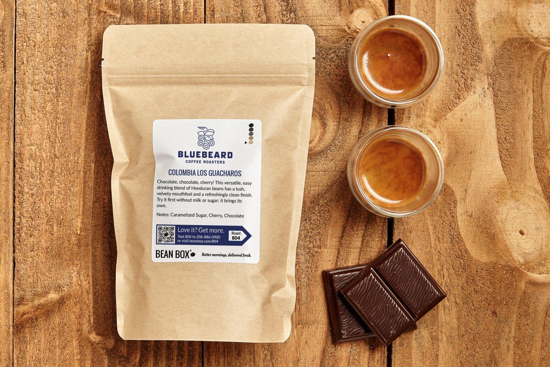 Colombia Los Guacharos by Bluebeard Coffee Roasters